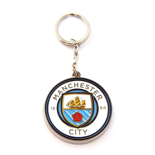 Buy Manchester City Crest Keychain In Wholesale Online