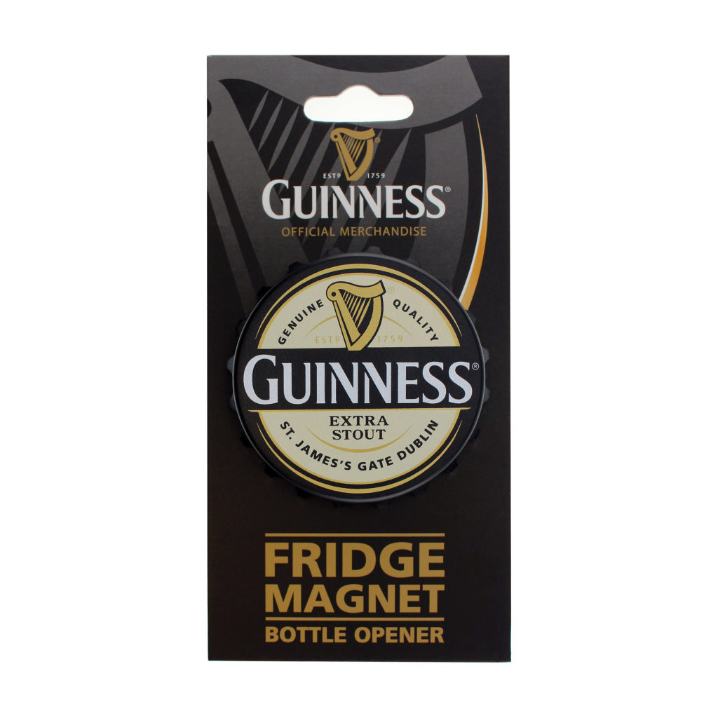 Buy Guinness Screw Cap Label Bottle Opener Magnet in ...