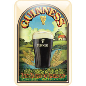 BUY GUINNESS TASTE OF IRELAND METAL SIGN IN WHOLESALE ONLINE