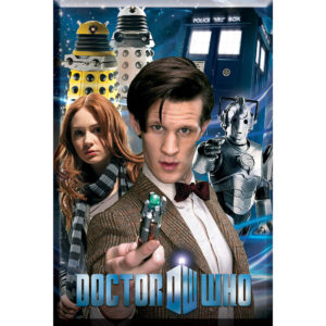 BUY DOCTOR WHO 6TH SERIES MAGNET IN WHOLESALE ONLINE
