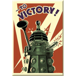 BUY DOCTOR WHO DALEK TO VICTORY MAGNET IN WHOLESALE ONLINE