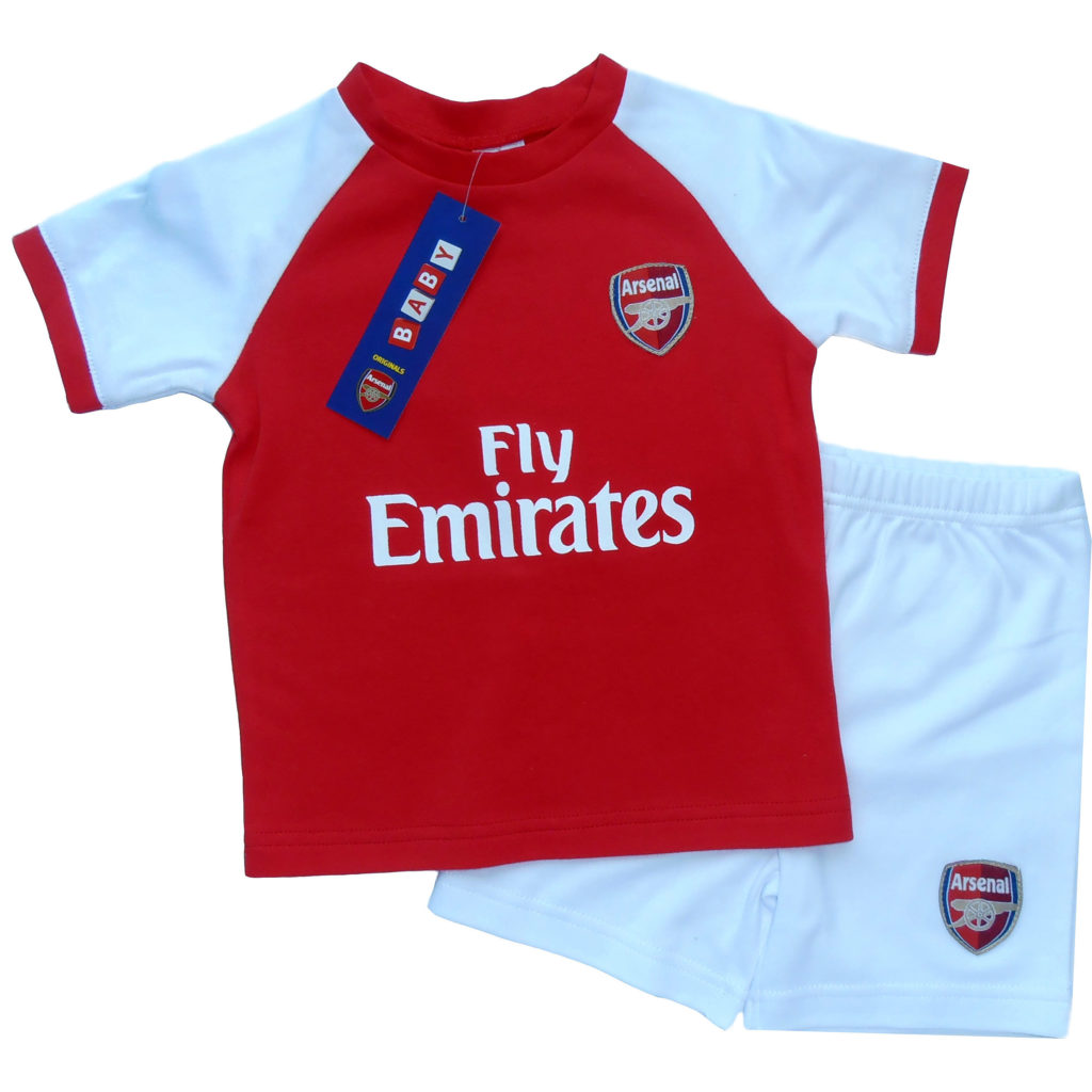 sports shoes 0a54a 234cf ARSENAL - BABY/TODDLER SHORTS & T-SHIRT KIT