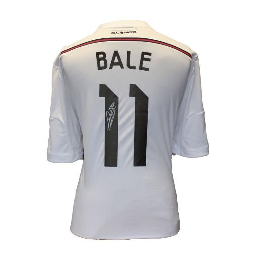 8ae5a836979 BUY AUTHENTIC SIGNED GARETH BALE 2014-15 REAL MADRID JERSEY IN WHOLESALE  ONLINE