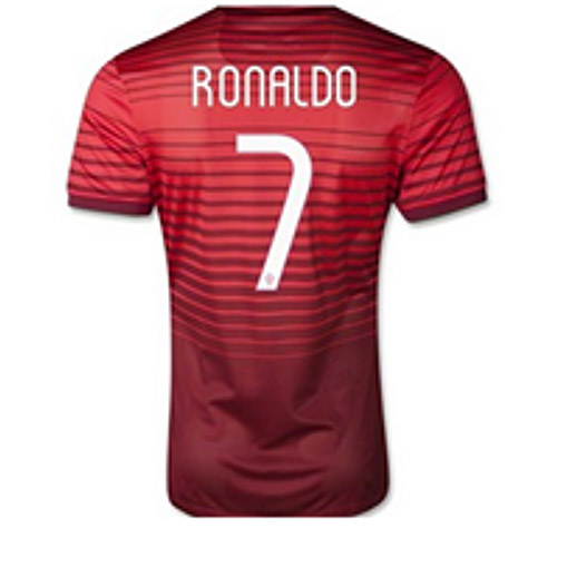 size 40 07e99 a1ef8 CRISTIANO RONALDO - AUTHENTIC SIGNED 2013-14 PORTUGAL SHIRT