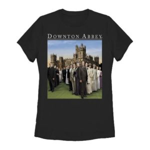 BUY DOWNTON ABBEY FAMILY LADIES T-SHIRT IN WHOLESALE ONLINE