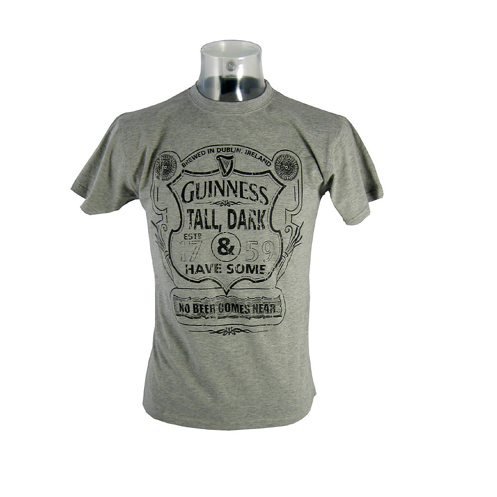 Buy Guinness Grey Tall Dark And Have Some T Shirt In