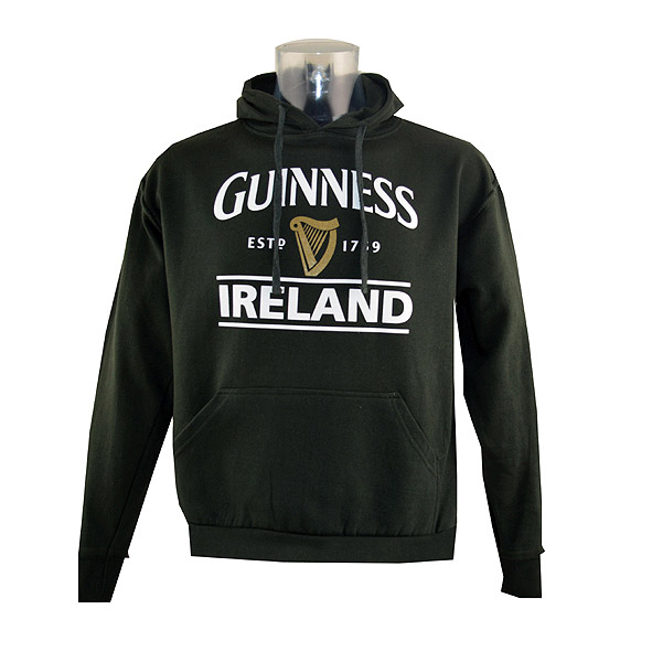 Irish Sweatshirts And in designs for every taste - personalized family coat of arms, personalized Irish counties, embroidered and appliqued favorite Irish symbols and sayings, and ever popular Guinness.