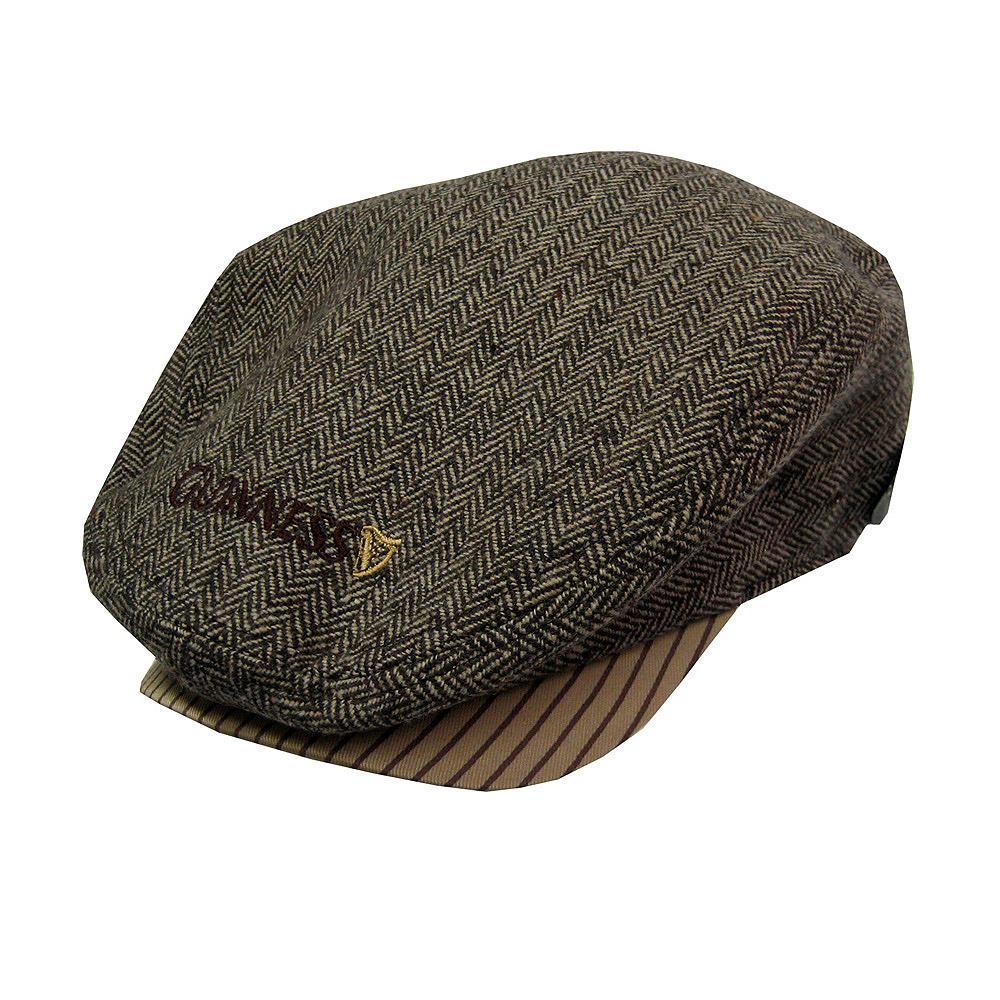 Buy Guinness Brown Tweed Flat Cap in wholesale online! 54db598fb06