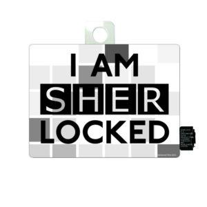 BUY SHERLOCK I AM SHER LOCKED STICKER IN WHOLESALE ONLINE