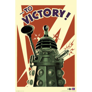 BUY DOCTOR WHO DALEK TO VICTORY POSTER IN WHOLESALE ONLINE