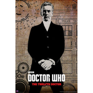 BUY DOCTOR WHO 12TH DOCTOR GRAFFITI POSTER IN WHOLESALE ONLINE