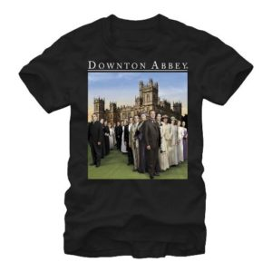 BUY DOWNTON ABBEY FAMILY UNI-SEX T-SHIRT IN WHOLESALE ONLINE