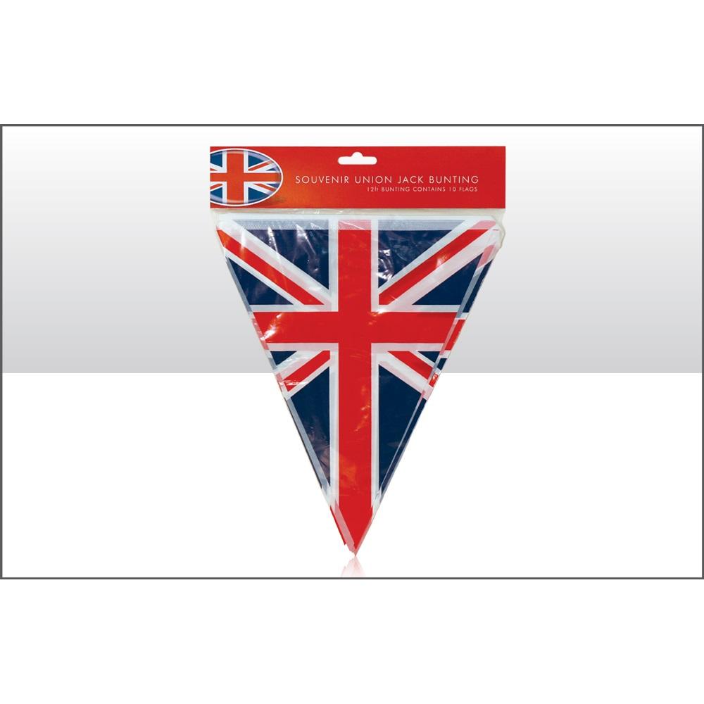 BUY UNITED KINGDOM UNION JACK TRIANGULAR BUNTING IN WHOLESALE ONLINE  sc 1 st  Mimi Imports & Buy Union Jack Paper Plates in wholesale online! | Mimi Imports