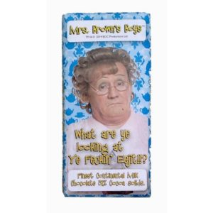 BUY MRS. BROWN'S BOYS WHAT ARE YOU LOOKING AT MILK CHOCOLATE BAR IN WHOLESALE ONLINE