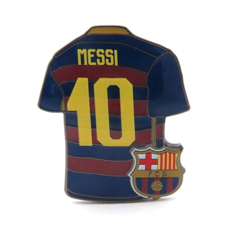 reputable site e8f46 03f90 BARCELONA - LIONEL MESSI JERSEY PIN