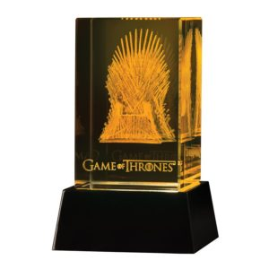 BUY GAME OF THRONES 3D CRYSTAL IRON THRONE IN WHOLESALE ONLINE