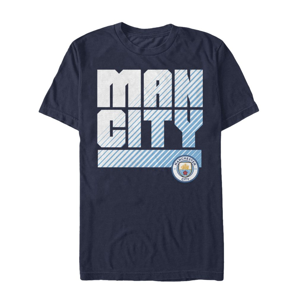 Buy manchester city name crest cotton t shirt in wholesale for T shirts with city names