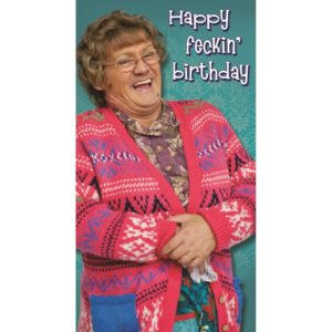 BUY MRS. BROWN'S BOYS FECKIN BIRTHDAY CARD IN WHOLESALE ONLINE