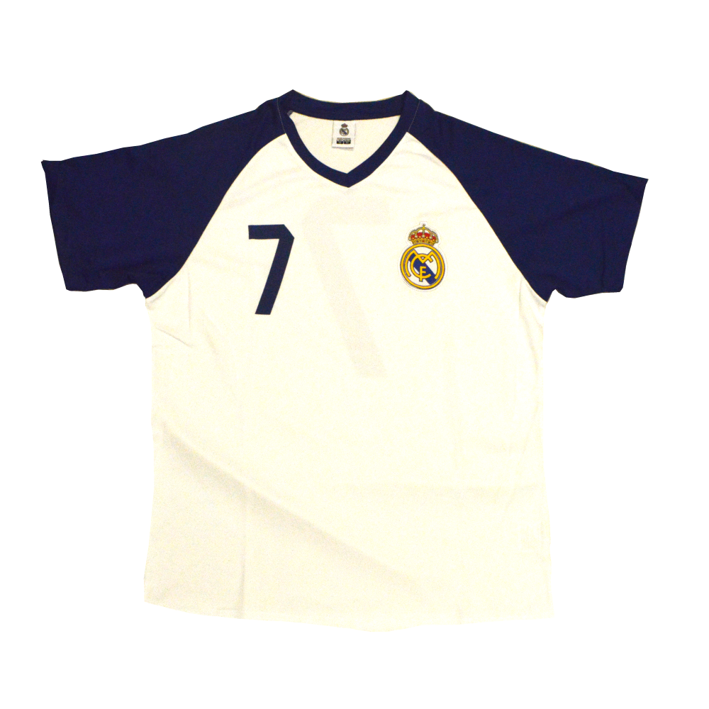 cheaper 70801 903e6 REAL MADRID - #7 POLY T-SHIRT