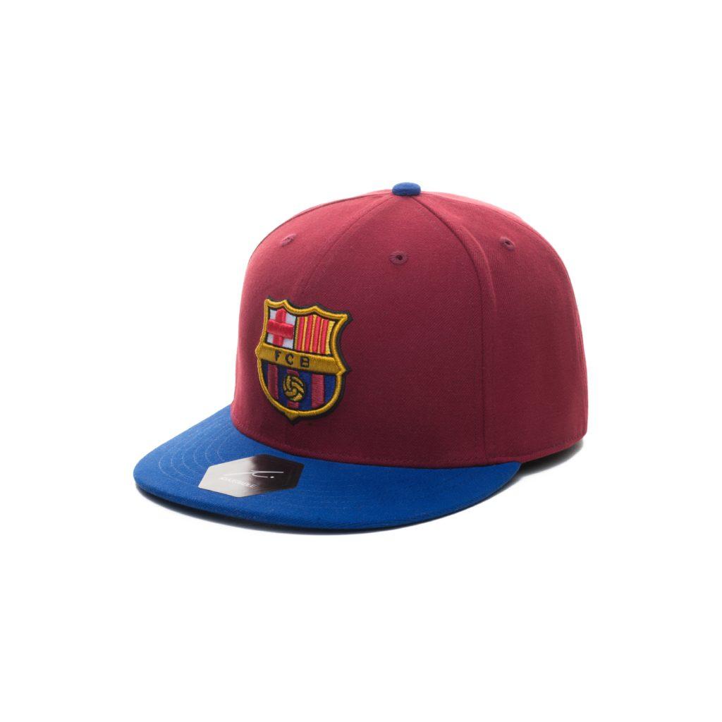 Buy Barcelona Flat Peak Snapback in wholesale online!  40d8995b190