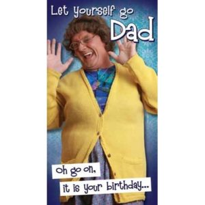 BUY MRS BROWN'S BOYS HAPPY BIRTHDAY DAD CARD IN WHOLESALE ONLINE