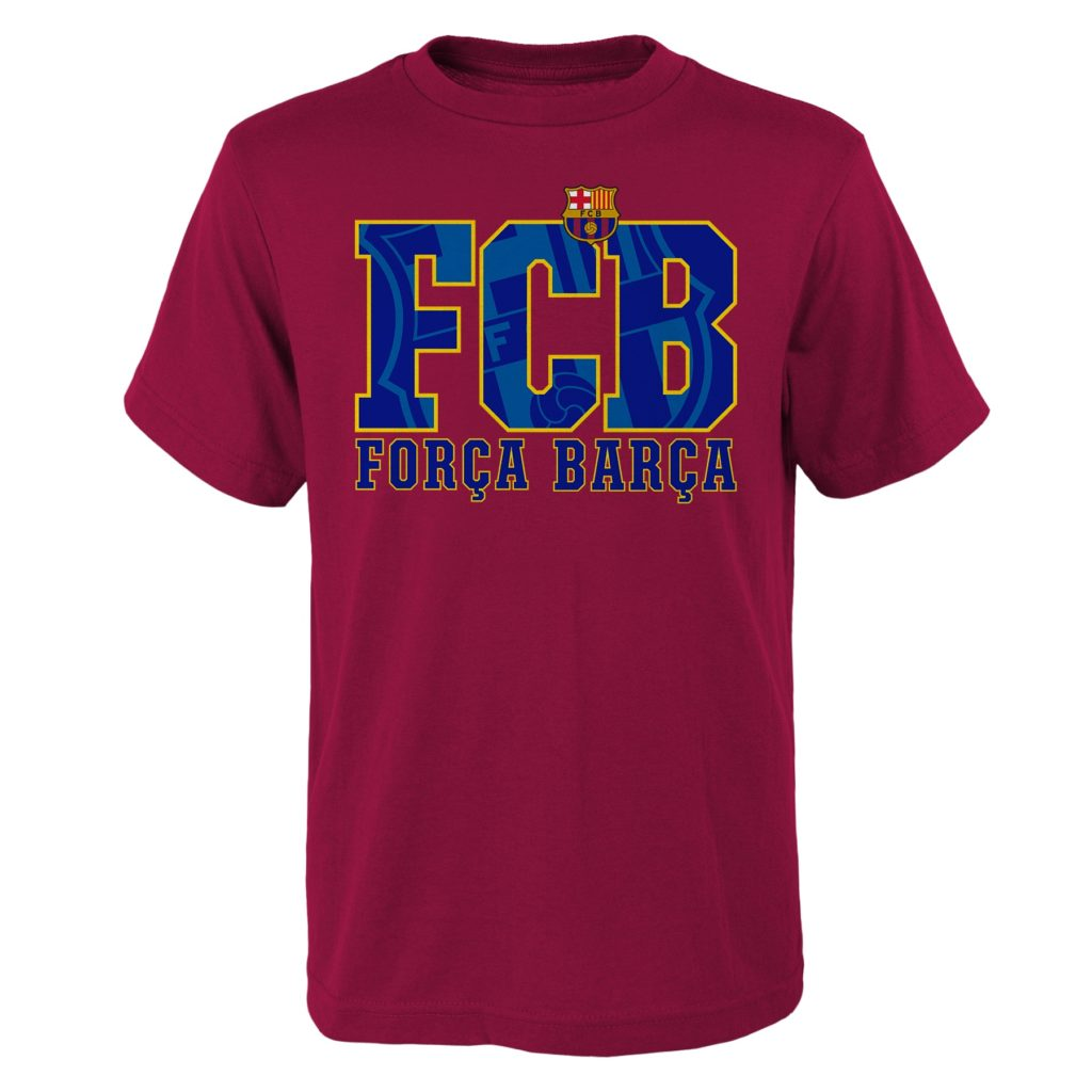 3f3956ddd7fb45 Buy Barcelona Forca Barca Youth T-Shirt in Wholesale Online!
