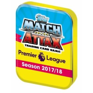 2017-18 TOPPS MATCH ATTAX EPL CARDS