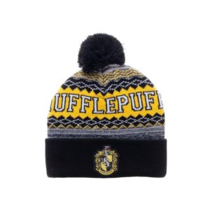 BUY HARRY POTTER HUFFLEPUFF POM CUFF BEANIE IN WHOLESALE ONLINE