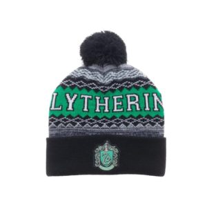 BUY HARRY POTTER SLYTHERIN POM CUFF BEANIE IN WHOLESALE ONLINE