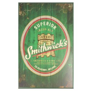 BUY SMITHWICKS DISTRESSED WOODEN SIGN LABEL IN WHOLESALE ONLINE