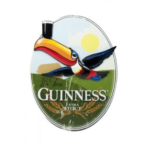 BUY GUINNESS OVAL TOUCAN WALL ART IN WHOLESALE ONLINE