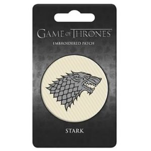 BUY GAME OF THRONES STARK EMBROIDERED PATCH IN WHOLESALE ONLINE!