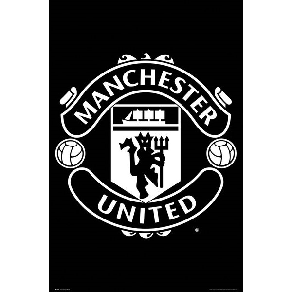 Buy Manchester United Crest Poster In Wholesale Online Mimi Imports