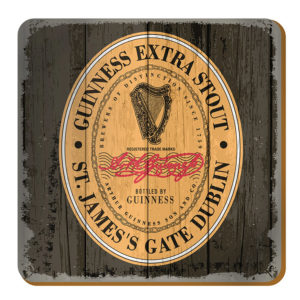 BUY GUINNESS NOSTALGIC IRELAND HERITAGE LABEL COASTERS IN WHOLESALE ONLINE!