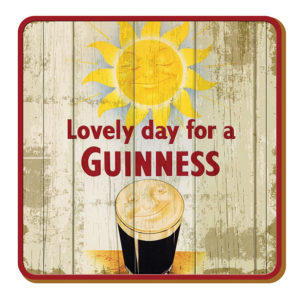 BUY GUINNESS NOSTALGIC IRELAND SMILING PINT COASTERS IN WHOLESALE ONLINE!