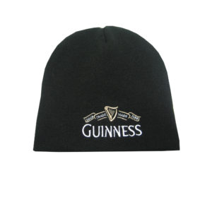 BUY GUINNESS BLACK 1759 KNITTED BEANIE IN WHOLESALE ONLINE