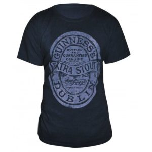 BUY GUINNESS DISTRESSED LABEL T-SHIRT IN WHOLESALE ONLINE