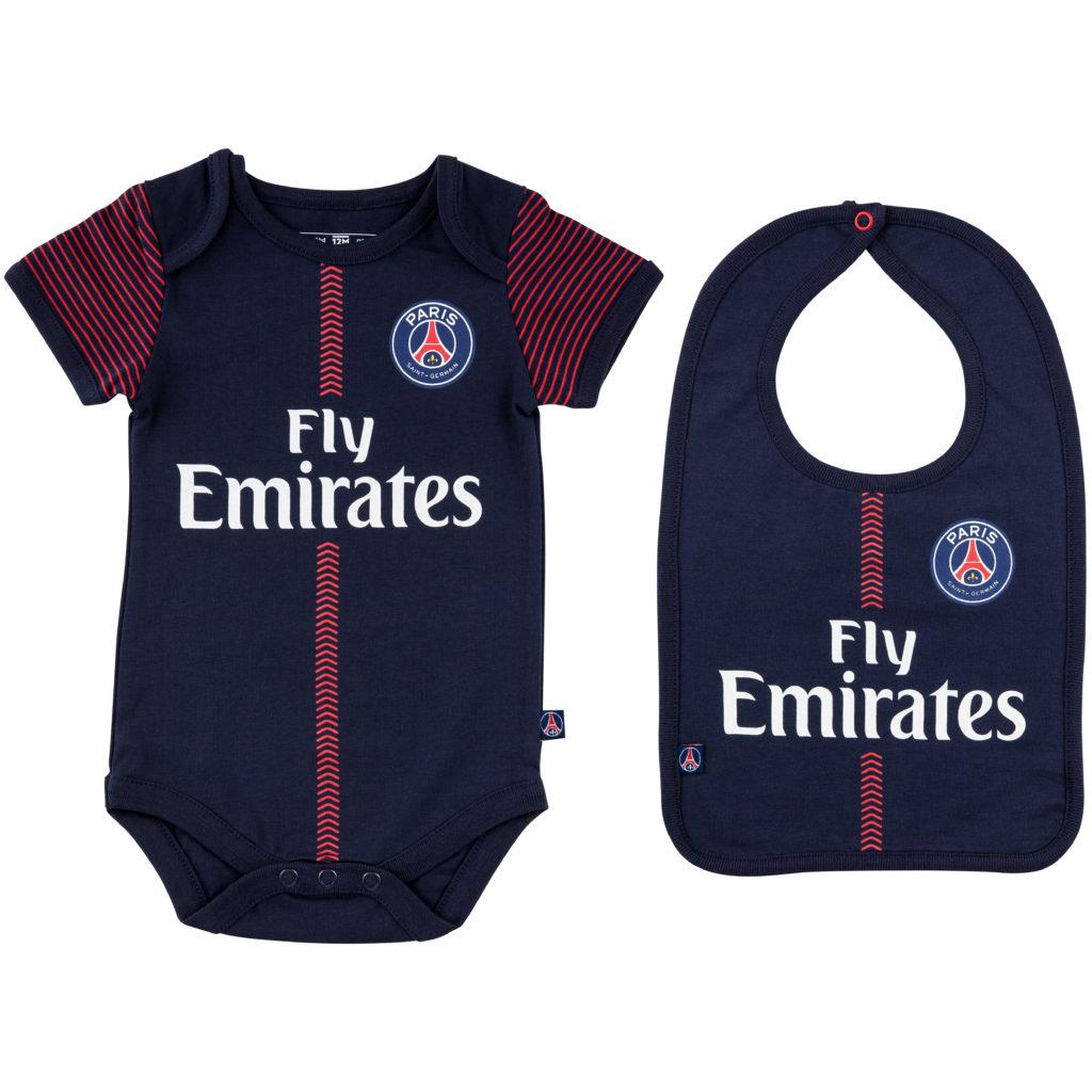 Buy Paris Saint Germain 2017 18 Baby Onesie Set In Wholesale Online