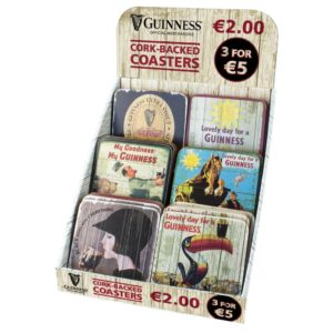 BUY GUINNESS RUSTIC COASTER DISPLAY IN WHOLESALE ONLINE!
