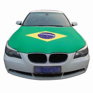 BRASIL - CAR HOOD COVER