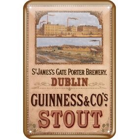 BUY GUINNESS ST JAMES GATE METAL SIGN IN WHOLESALE ONLINE