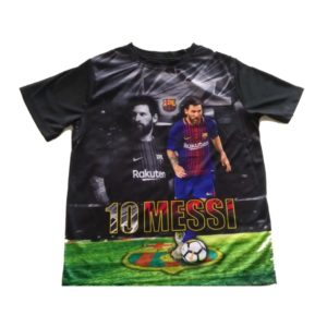 BUY YOUTH BARCELONA BLACK MESSI T-SHIRT IN WHOLESALE ONLINE