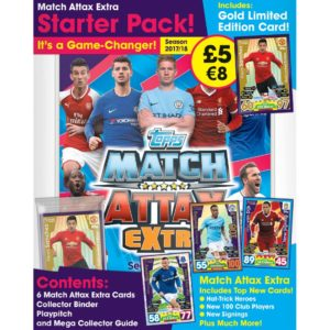 BUY 2017-18 TOPPS MATCH ATTAX EXTRA EPL CARDS STARTER PACK IN WHOLESALE ONLINE