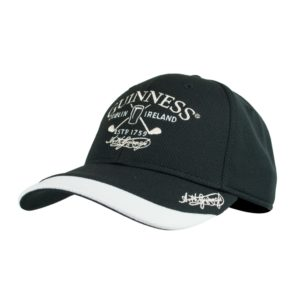BUY GUINNESS BLACK WHITE GOLF BASEBALL HAT IN WHOLESALE ONLINE