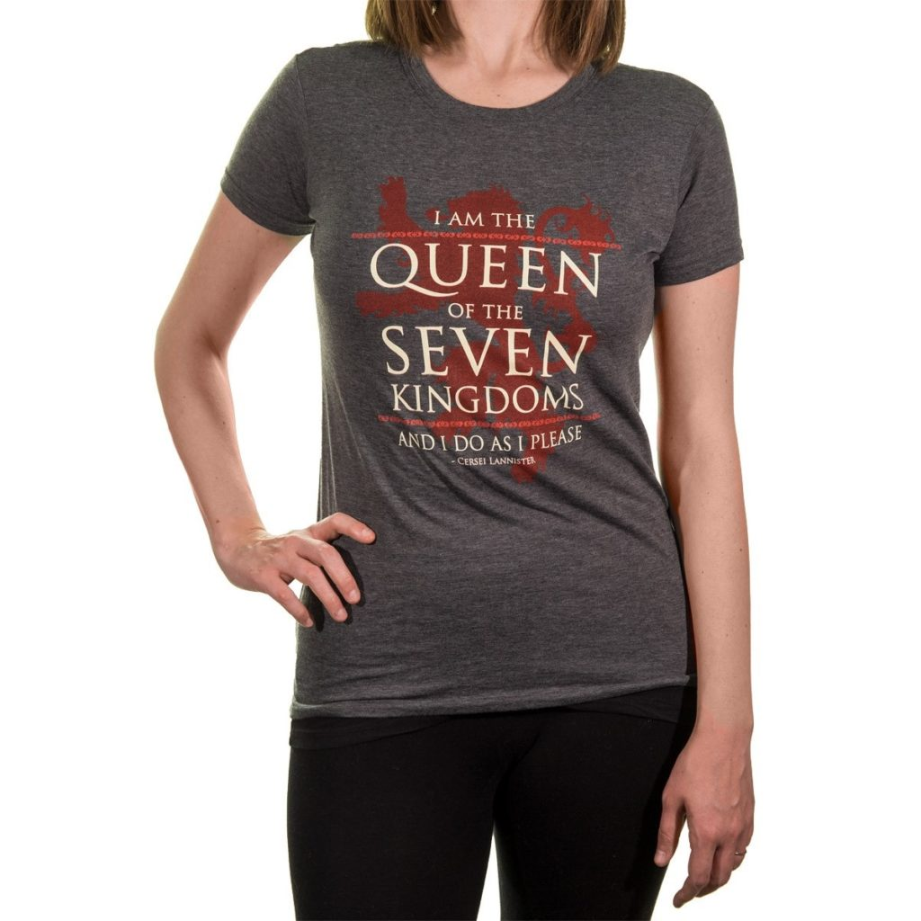 Buy Game Of Thrones Queen Of The Seven Kingdoms Ladies T Shirt