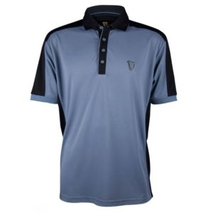 BUY GUINNESS GREY HARP GOLF POLO SHIRT IN WHOLESALE ONLINE