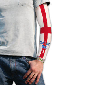 BUY ENGLAND 3 LIONS TATTOO SLEEVE IN WHOLESALE ONLINE!