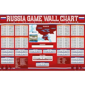 BUY 2018 WORLD CUP WALL CHART POSTER IN WHOLESALE ONLINE