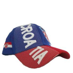 BUY CROATIA 3D HAT IN WHOLESALE ONLINE!