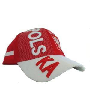BUY POLSKA RED 3D HAT IN WHOLESALE ONLINE!